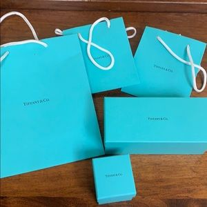 Tiffany and Co Boxes/bags